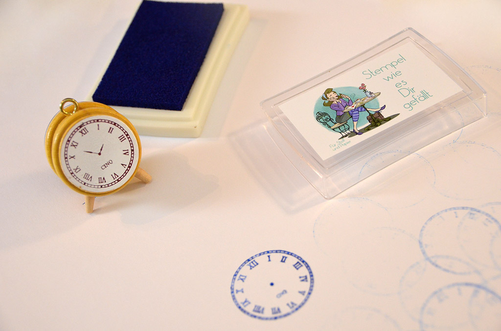 Packendes Stempel