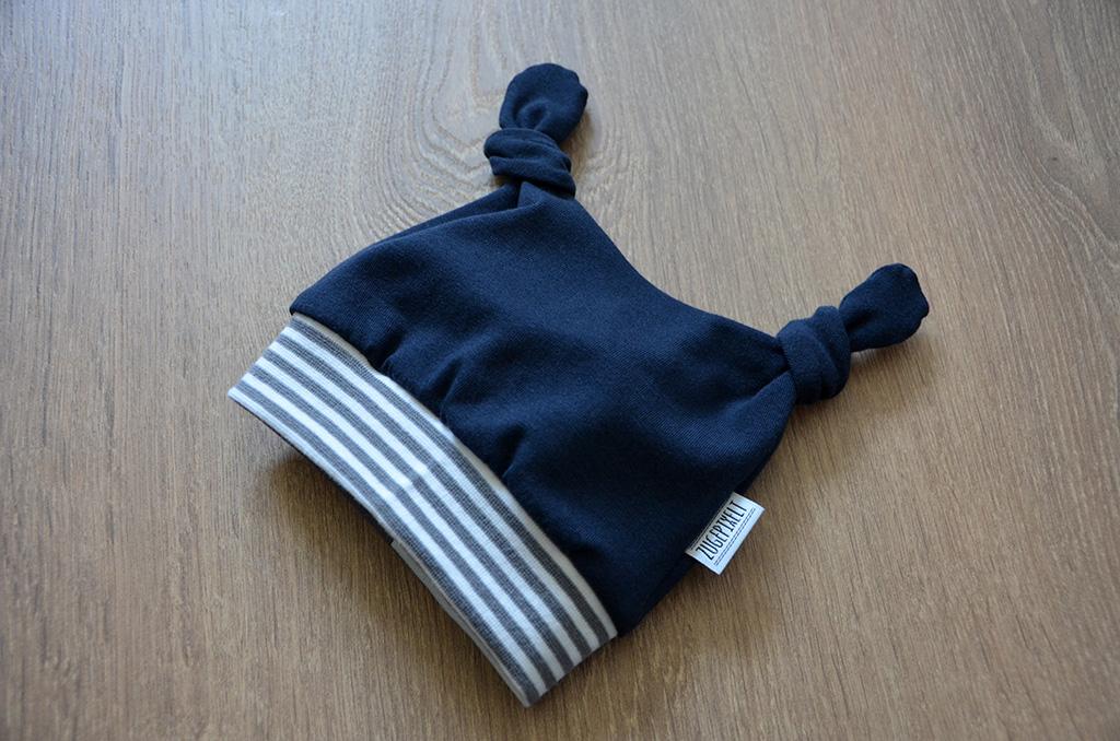 Zugepixelt nähen Babymütze Minimop